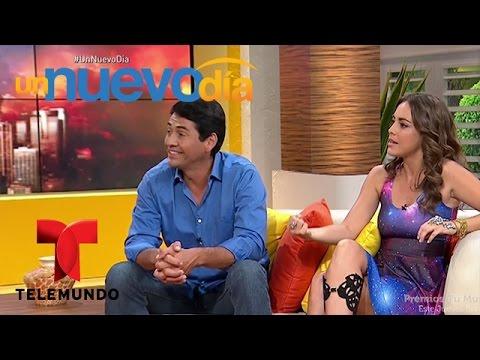 Entrevista con Maria Elisa Camargo y Gabriel Porras   Un Nuevo Día   Telemundo