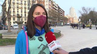 Mujeres valoran la prohibición de actos durante el 8M en Madrid