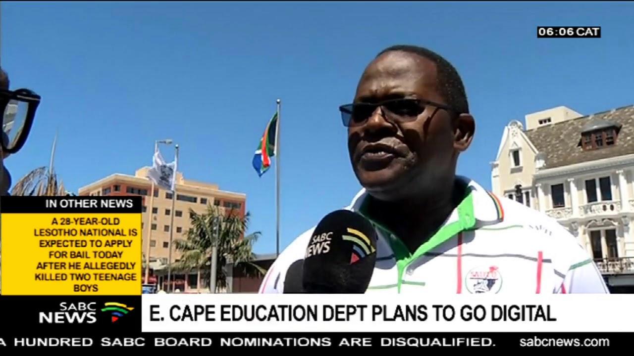 E. Cape Education Department plans to go digital