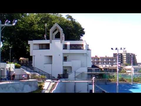 旧小松原高等学校があった現在