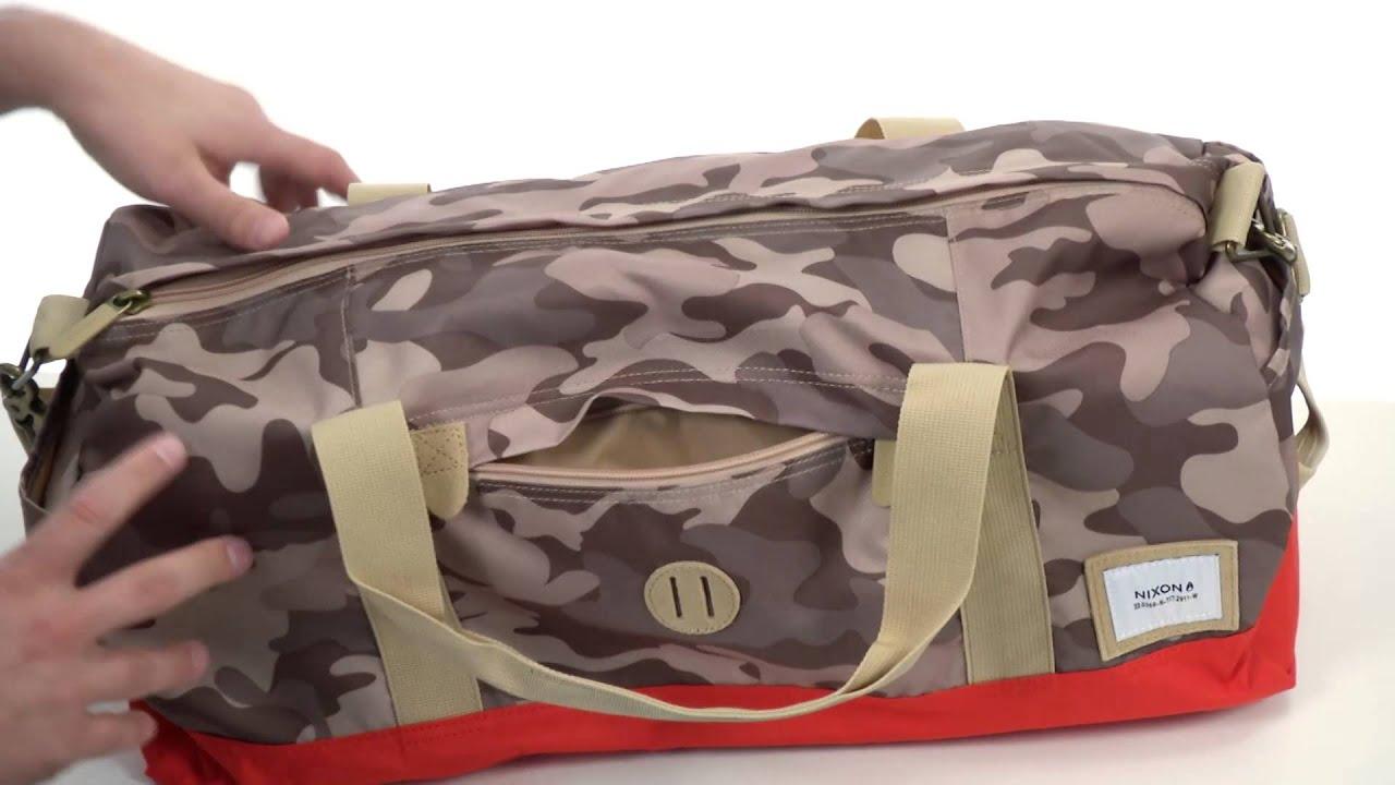 Nixon Pipes Duffle Bag Sku 8334033