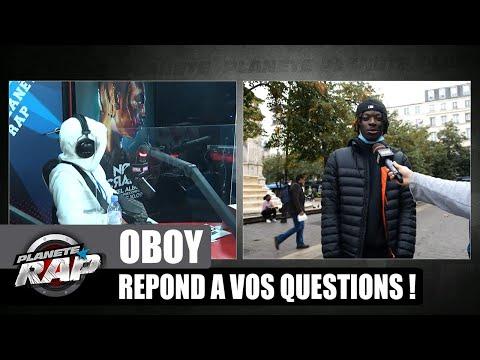 Youtube: Est-ce que OBOY gère beaucoup de meufs? Il répond à VOS questions! #PlanèteRap