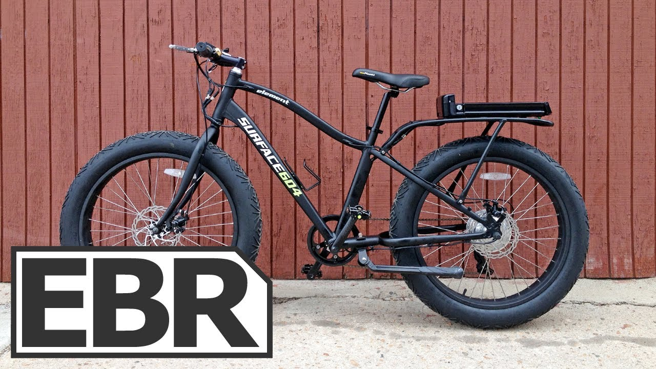 Surface 604 Element Electric Video Review Fat Tire Electric Bike