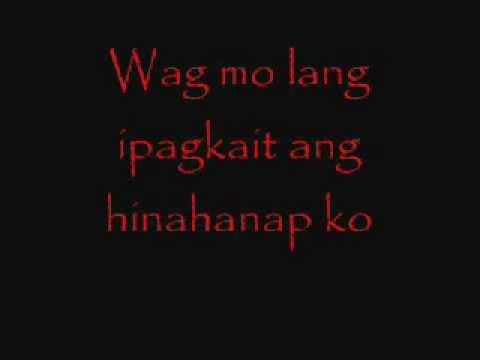 ligaya eraserheads lyrics =D