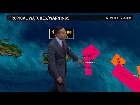 Outlook for Hurricane Jose and Hurricane Maria: Sept. 18, 2017