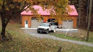 Garage Door Installation Time Lapse Video~ Stoneburner Construction~ Harrisonburg, Va