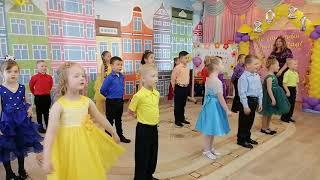 Алфавит - песня Марины Басовой на выпускном празднике в детском саду \