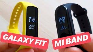 Galaxy Fit E Vs Xiaomi Mi Band 3  Samsung Quiere Competir