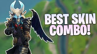 Fortnite BEST Skin, Back Bling Combo of SEASON 5! Skin Combo Showcase - Solo Win