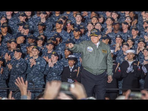 LIVE: PRESIDENT TRUMP IN NORFOLK FOR COMMISSIONING OF USS GERALD R. FORD (CVN-78)
