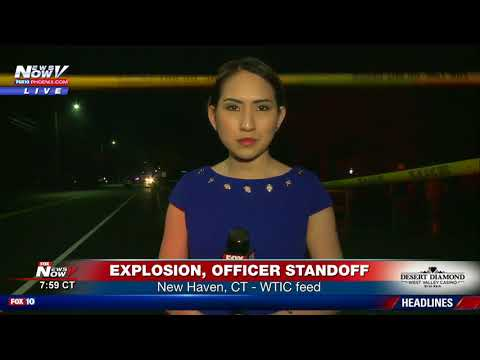 BREAKING: Explosion, officer standoff in New Haven, CT (FNN)