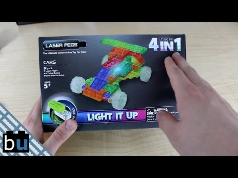LASER PEGS MPS Car Series Review