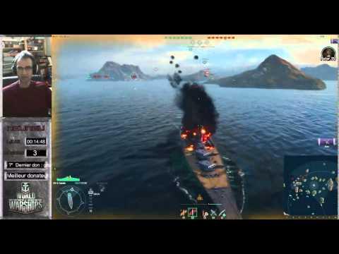 WoWs : Déblocage, achat et 1ère partie du Yamato ( Cuirassé T 10 )