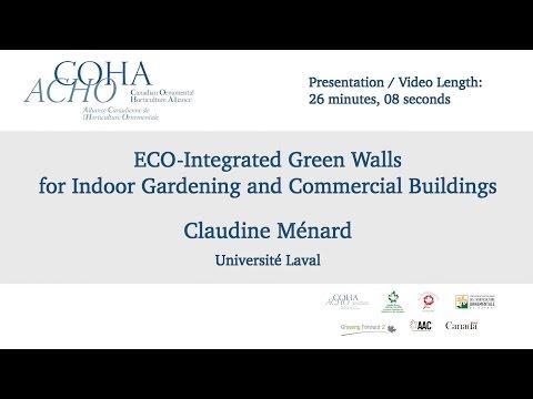 ECO-Integrated Green Walls - Claudine Ménard