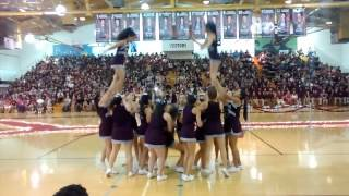 homecoming rally 2015 mwhs jv cheer