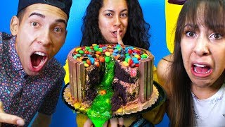 Video SLIME CAKE Prank War Revenge Prank on my Brother and Sister! download MP3, 3GP, MP4, WEBM, AVI, FLV Agustus 2018