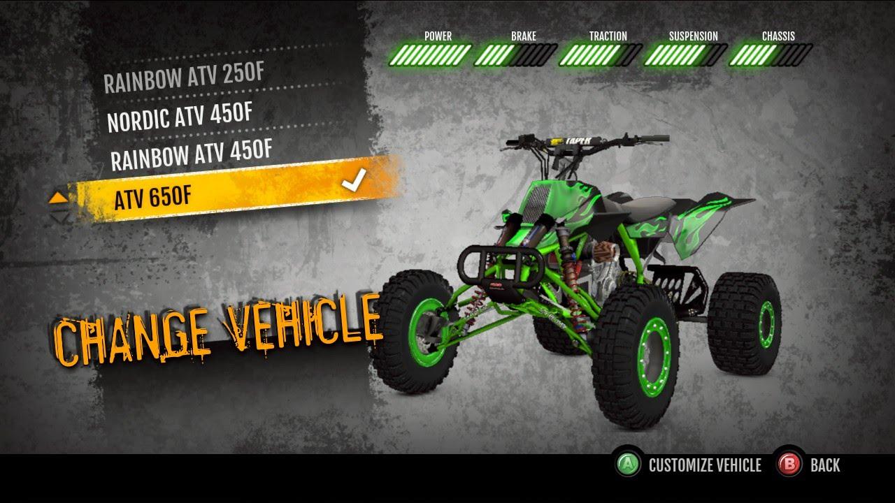 MX vs. ATV Supercross Encore 650 Quad Gameplay