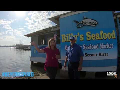 If It Swims, They Got It At Billy's Seafood Market In Bon Secour