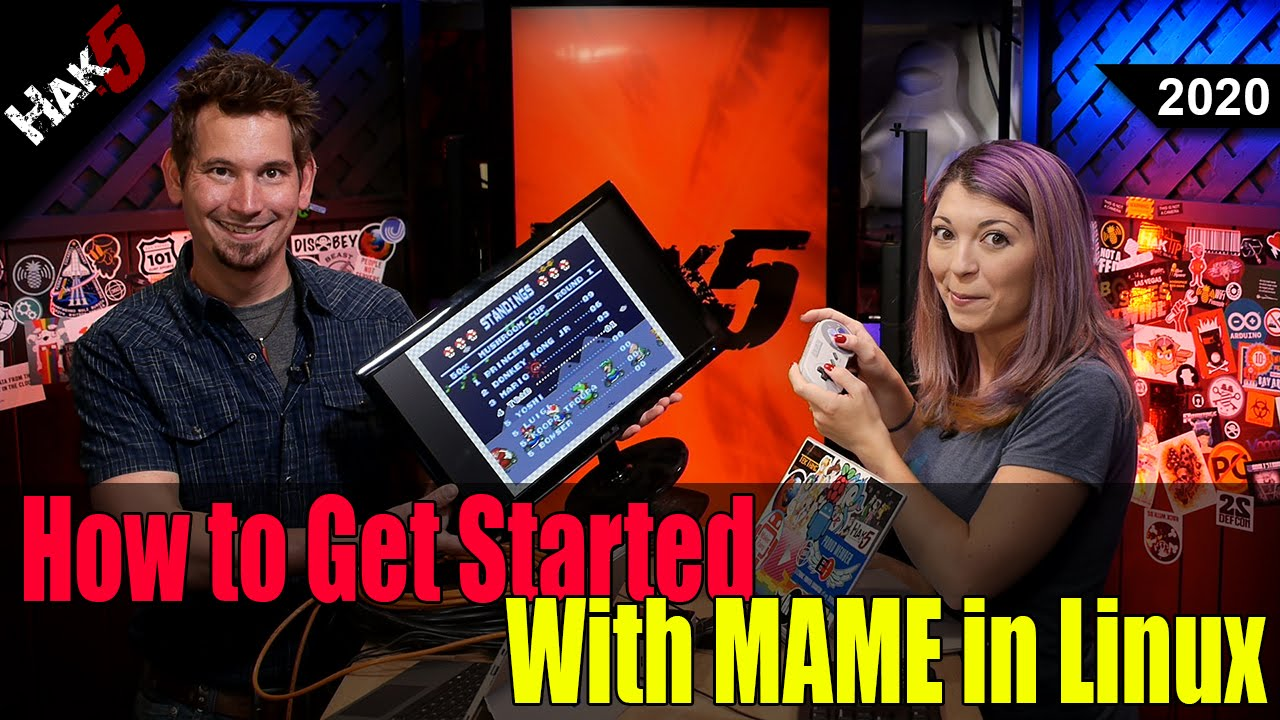 Hak5 2020 – How to Get Started with MAME in Linux