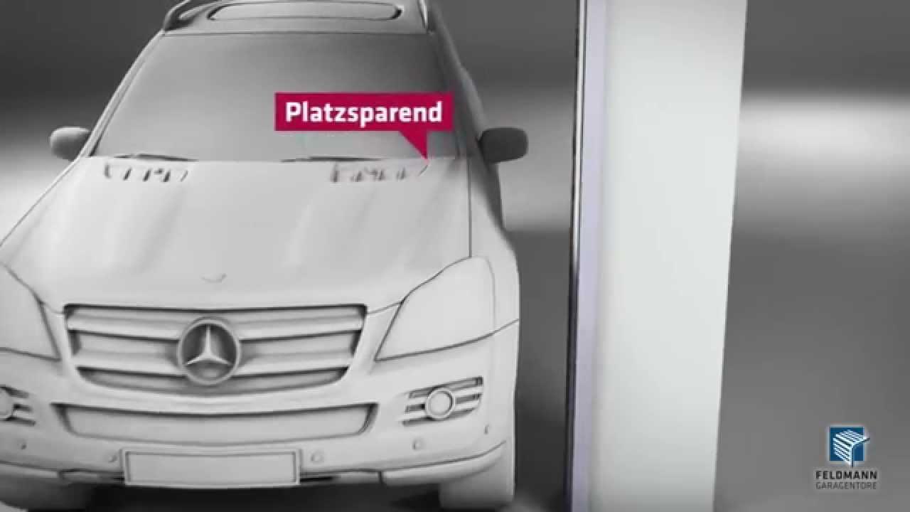 Garagentor Verbreitern mehr durchfahrtshöhe und breite mit einem feldmann garagentor