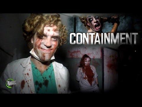 Containment Full Walk-Through | Thorpe Park Fright Nights (4k)