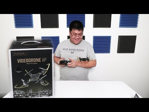 Protocol Video Drone AP Unboxing and First Flight Christmas 2017 Update