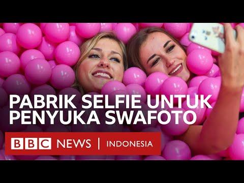 'Pabrik' selfie untuk