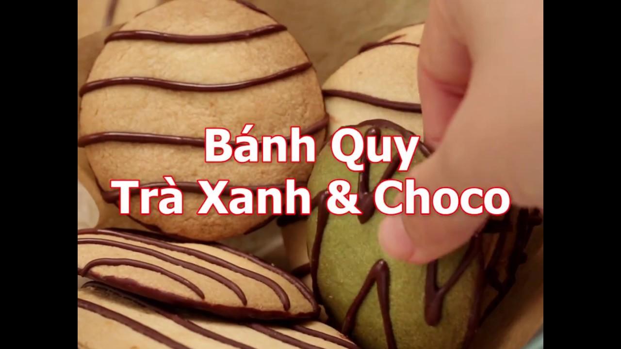 [Cookat Việt Nam] Bánh Quy Trà Xanh & Choco