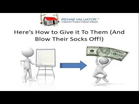 """How to Get Private Money Lenders, Hard Money Lenders and Banks to Say """"YES!!"""""""