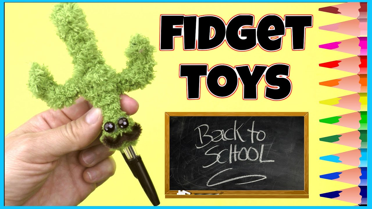 Diy Fidget Toys How To Make Diy Stress Relievers Cute Diys For School Supplies Diy Toys