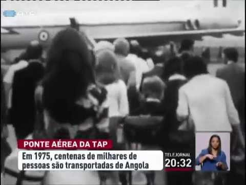 Ponte aérea da TAP trouxe centenas de milhares de retornados de África