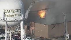 Dade City Business Center fire