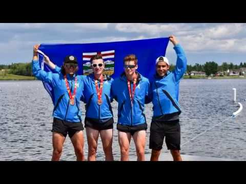 Alberta Men's Rowing, 2017 Canada Games Team