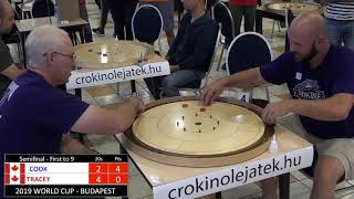 2019 Crokinole Cook v Tracey - World Cup - Budapest Semifinal