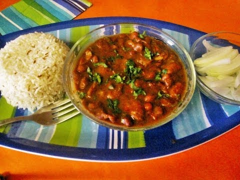 Quick And Easy Rajma Masala Curry (Red Kidney Beans) ( No Pre-Soaking Required)(Poonam's Kitchen)