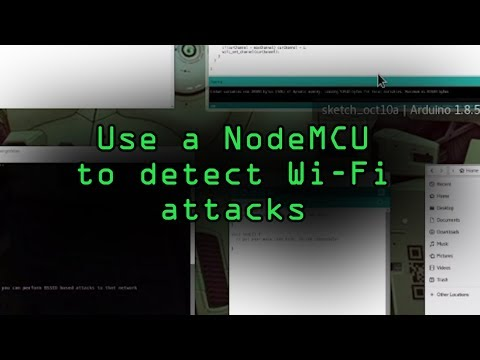 How To: Detect & Classify Wi-Fi Jamming Packets with the NodeMCU