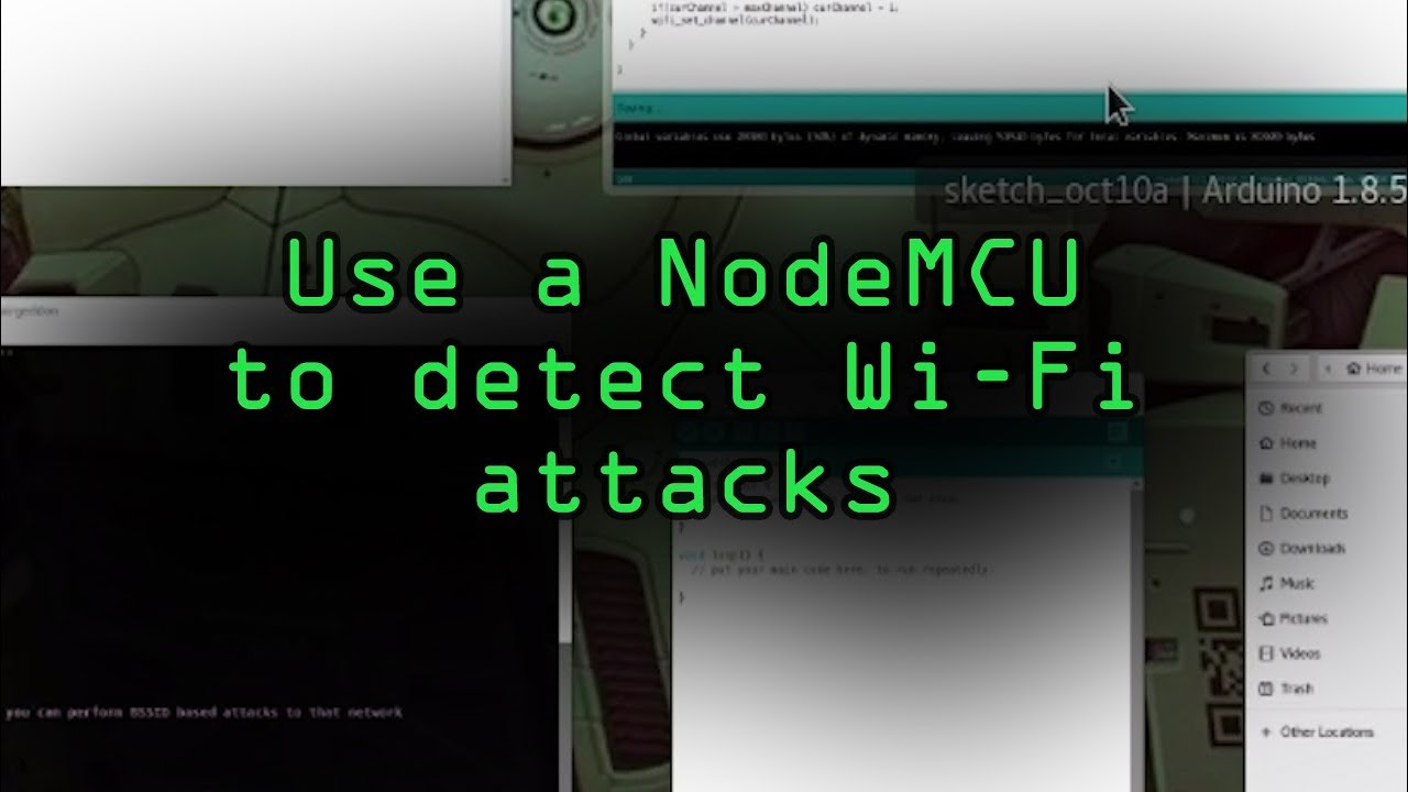 How to Detect & Classify Wi-Fi Jamming Packets with the NodeMCU