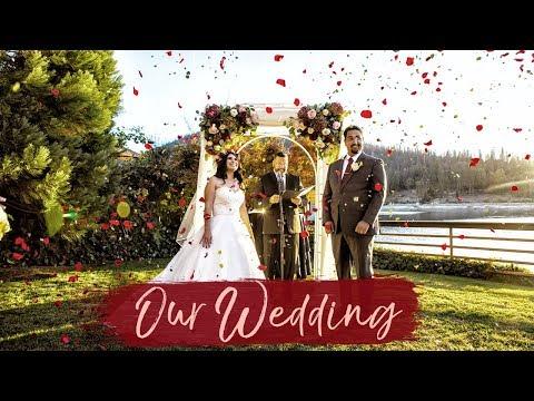 My DIY Fall Wedding Video ❤️ FALL WEDDING AT BASS LAKE