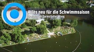 Entschlammung Großer Woog Darmstadt