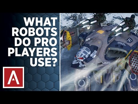 War Robots [WR] Tutorial - What ROBOTS do PRO PLAYERS Use?