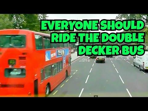 London Tour on Double Decker Bus   HD VIDEO