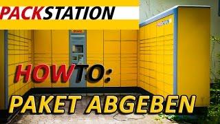 How To: DHL Packstation Paket abgeben