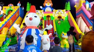 SERU !!! Jessica Jenica Mainan di ISTANA BALON Pororo the Little Penguin 💖 Mainan Anak