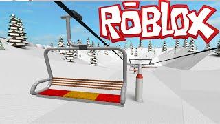 Roblox Ski Resort Snowboarding