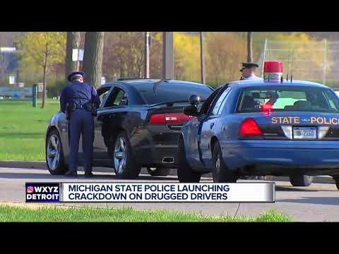 Michigan State Police to begin roadside drug testing pilot program Nov. 8