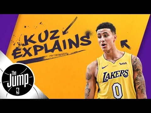 Kyle Kuzma talks Fortnite, roasting Lonzo Ball, playing at The Forum and more | The Jump | ESPN