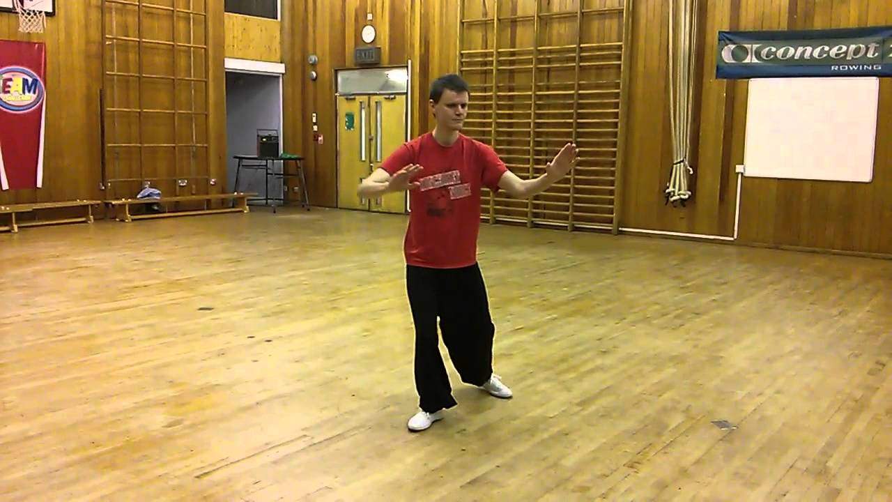 Chen Style Tai Chi 18 Form - Front View - YouTube