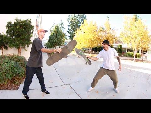 Andrew Reynolds and Shane Heyl Break Their Boards