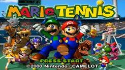 Nintendo 64 Longplay [006] Mario Tennis