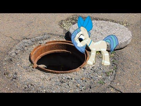 Пони страшилка В глубине колодца